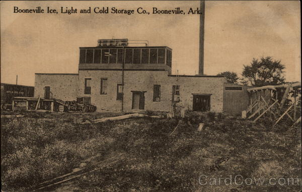 Booneville Ice, Light and Cold Storage Co Arkansas