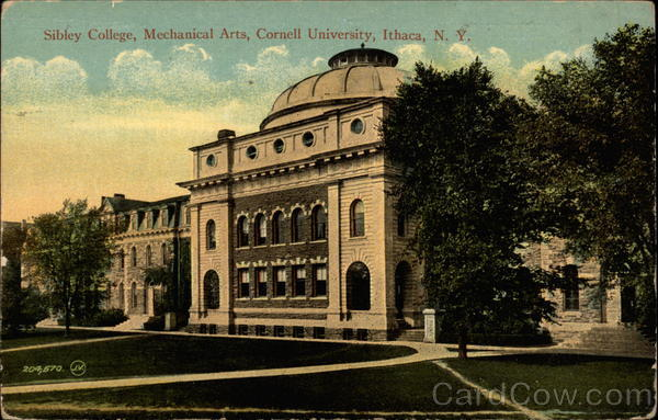 Sibley College, Mechanical Arts, Cornell University Ithaca New York