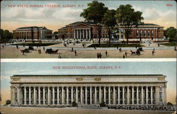 New State Normal College, New Educational Bldg Albany New York