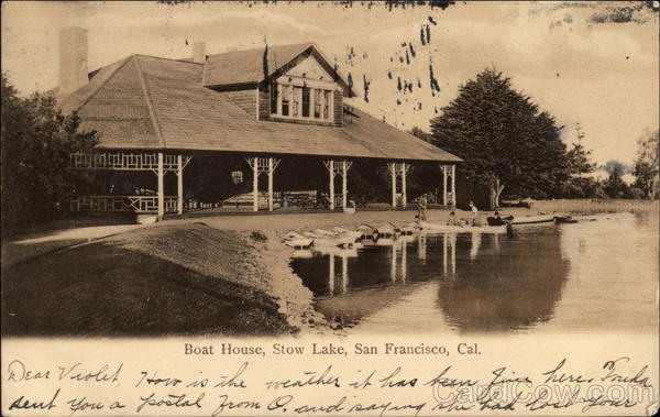 Boat House, Stow Lake San Francisco California