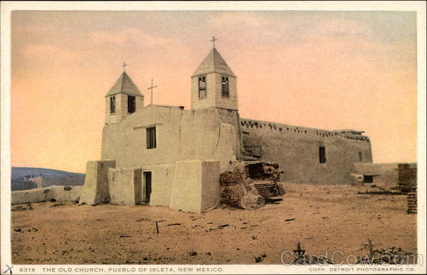 The Old Church Isleta New Mexico