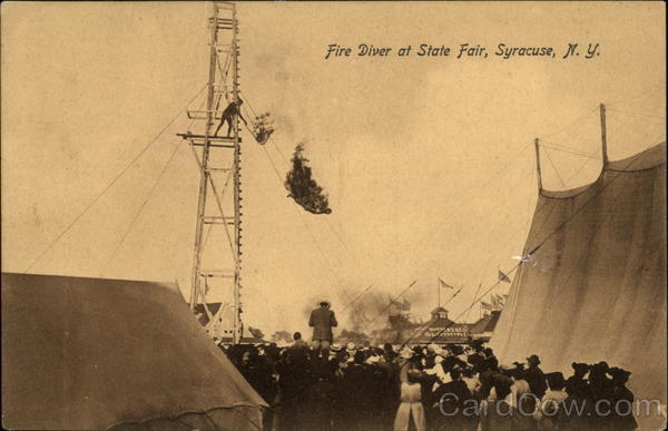 Fire Diver at State Fair Syracuse New York Amusement Parks