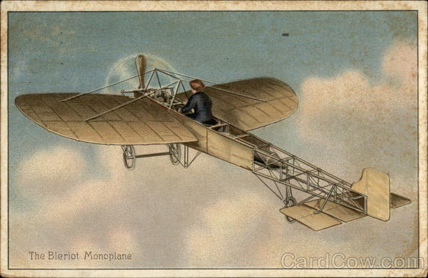 The Bleriot Monoplane Aircraft