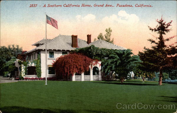 A Southern California Home, Grand Ave Pasadena