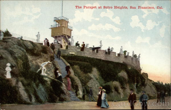 The Parapet at Sutro Heights San Francisco California