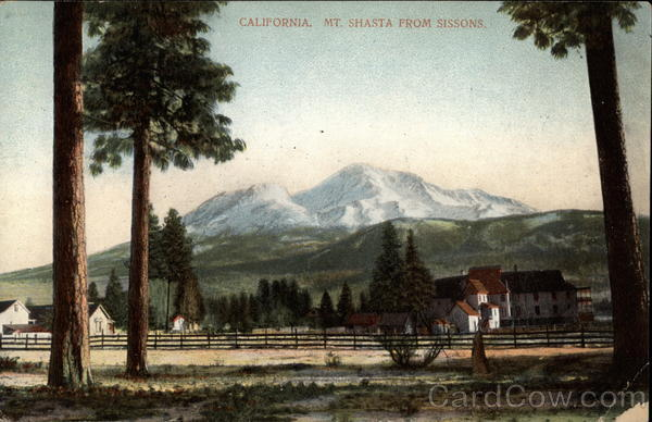 Mt. Shasta from Sissons California