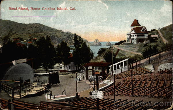 Band-Stand Santa Catalina Island California