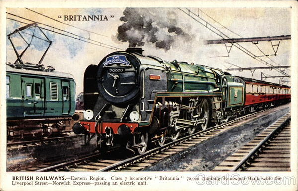 Britannia Trains, Railroad
