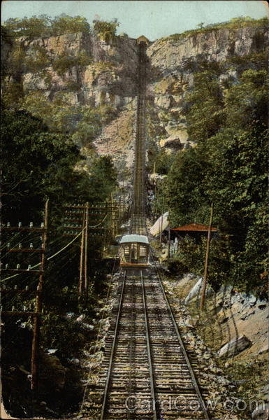 Incline railway up Lookout Mountain Chattanooga Tennessee
