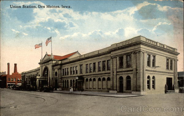 Union Station Des Moines Iowa
