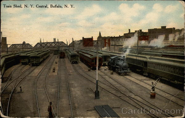 Train Shed, N.Y. Central Buffalo New York