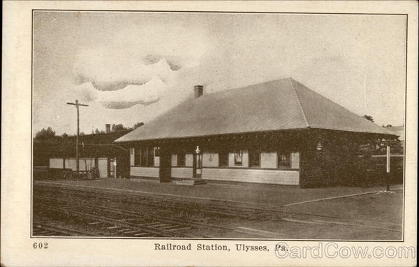 Railroad station Ulysses Pennsylvania