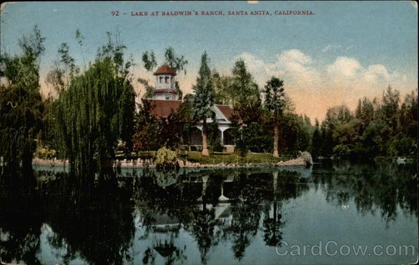 Lake at Baldwin's Ranch
