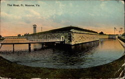 Fort Monroe, The Moat