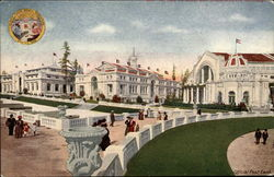 View of the Alaska Yukon Pacific Exposition