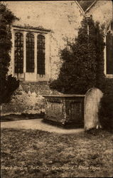 "Gray's Tomb in "" The Country Churchyard "" Postcard"