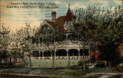 Paradise Hall, North Texas College, Kidd Key Conservatory