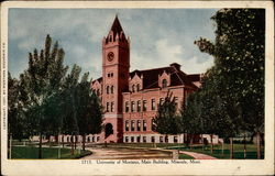University of Montana, Main Building