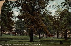 Campus, Southern Femal College Postcard