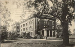 McKee Hall, Western College Postcard