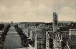 Campus South from Hospital, Duke University