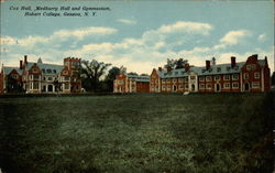 Cox Hall, Medburry Hall and Gymnasium, Hobart College