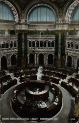 Reading Room, Congressional Library
