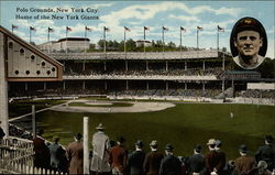 Polo grounds, home of the New York Giants