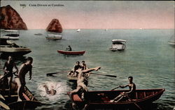 Coin divers at Catalina