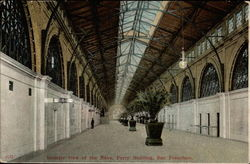 Interior view of the Nave, Ferry Building