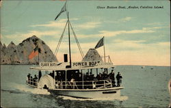 Glass bottom boat, Avalon