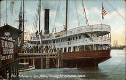 The Cabrillo at San Pedro, leaving for Catalina Island