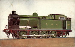 GNR 8 wheels coupled side tank engine No. 116