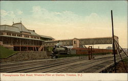 Pennsylvania Rail Road, Western Flier at Station