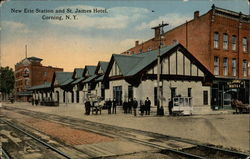 New Erie Station and St. James Hotel