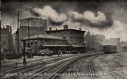 Old N. Y. C. Station, torn down 1910