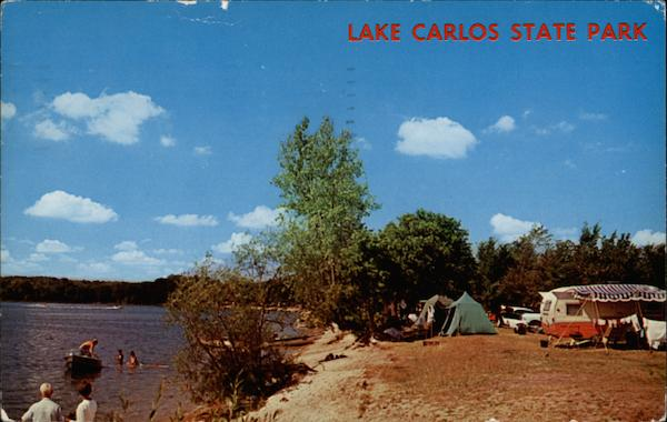 Lake Carlos State Park - Campgrounds Minnesota