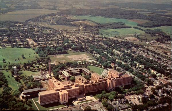 Aerial View St. Mary's Hospital Rochester, MN