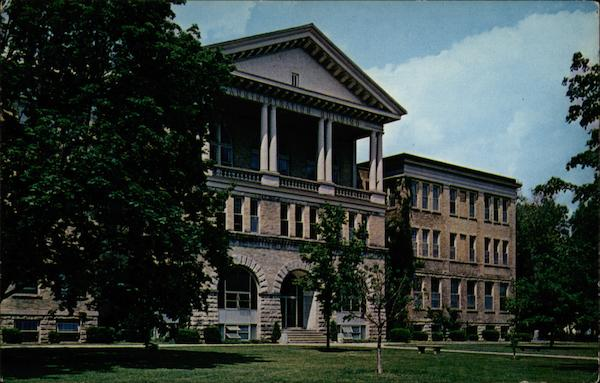 Ball State College Administration Building (Dedicated 1918) Muncie Indiana