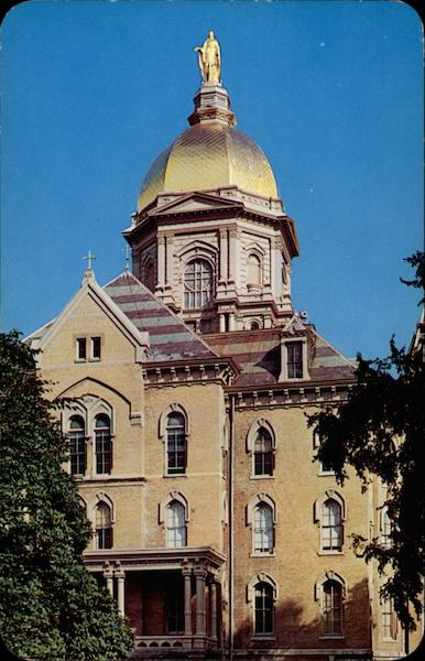 The Golden Dome South Bend Indiana