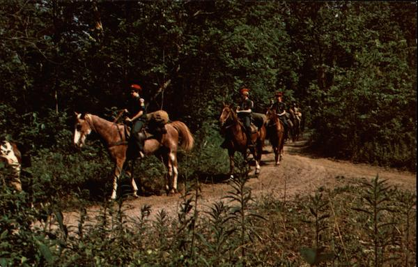 Boy Scouts on Horseback