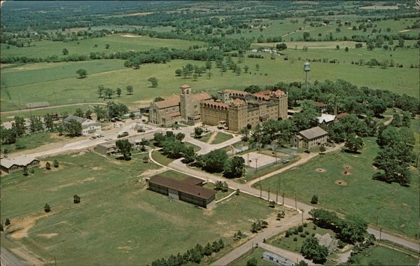Aerial View of New Subiaco Abbey & Academy Arkansas