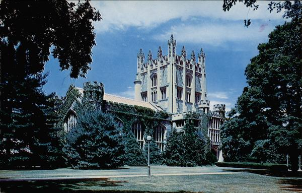 The Library, Vassar College Poughkeepsie New York