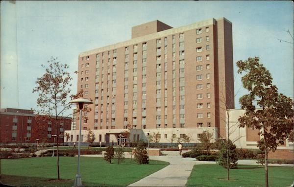 Ohio State Housing >> Drackett Tower, Ohio State University Columbus, OH
