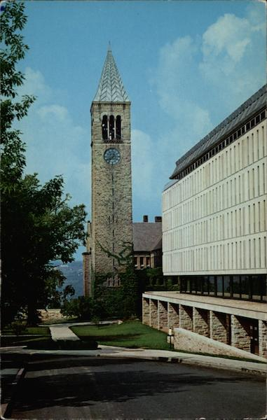 Library and Tower, Cornell University Ithaca New York
