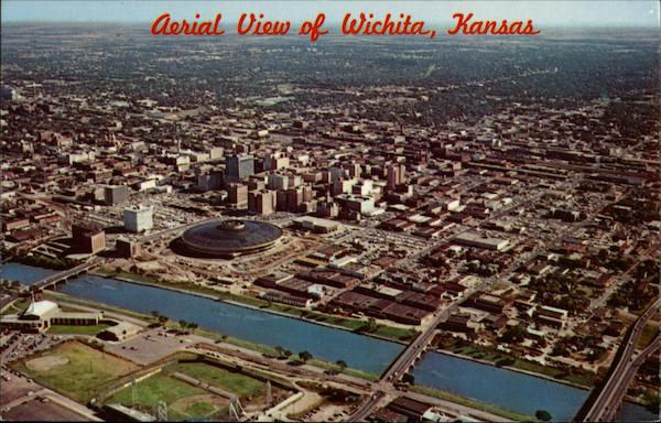 Aerial View of Wichita, Kansas