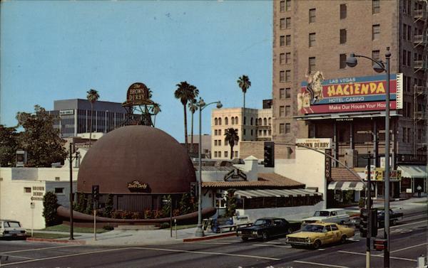 Brown Derby Restaurant Los Angeles, CA