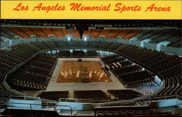 Los Angeles Memorial Sports Arena California Frank J. Thomas