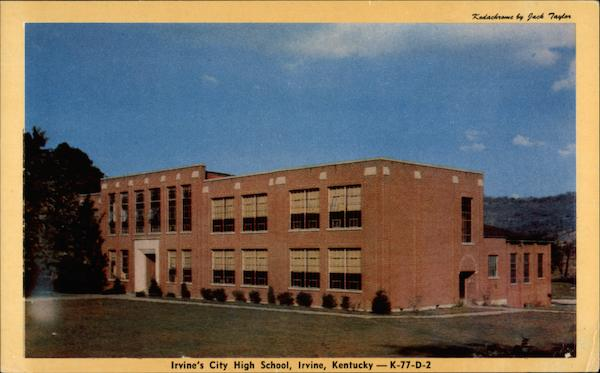 Irvine's City High School Kentucky