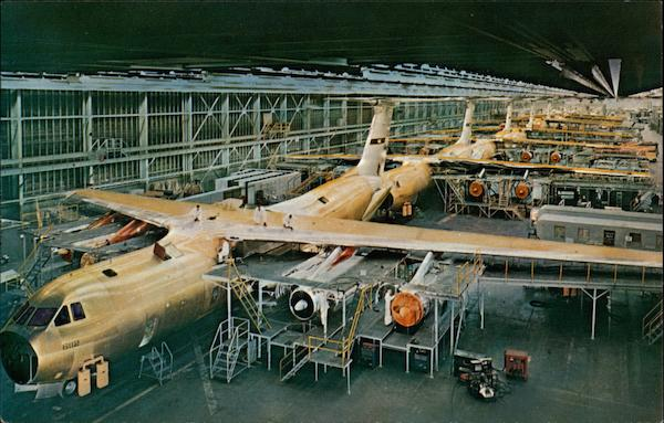 World's Largest Aircraft Manufacturing Plant Marietta Georgia